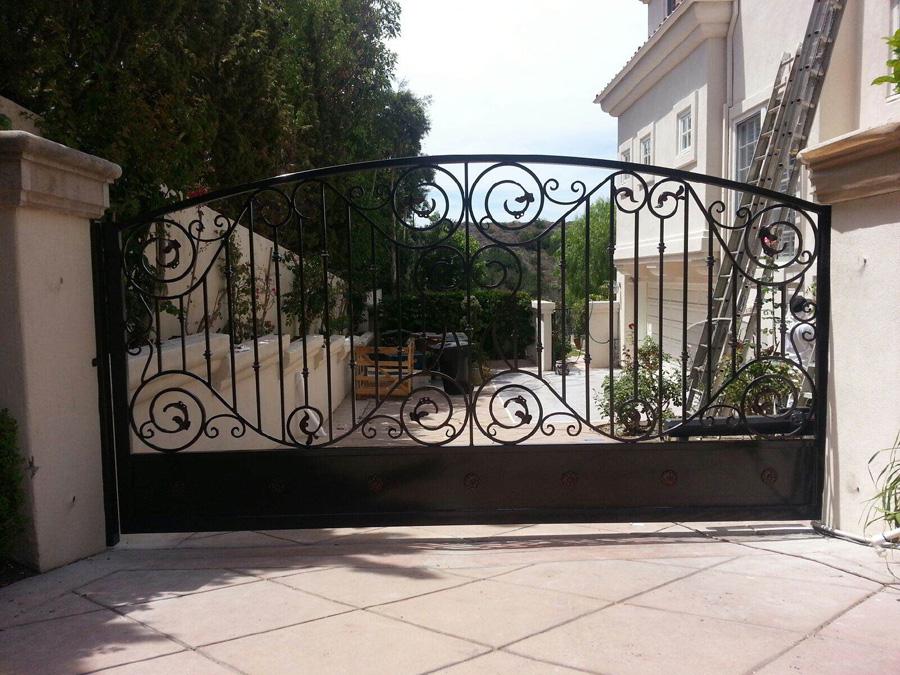 Wrought Iron Gates Albuquerque Wrought Iron Fence To
