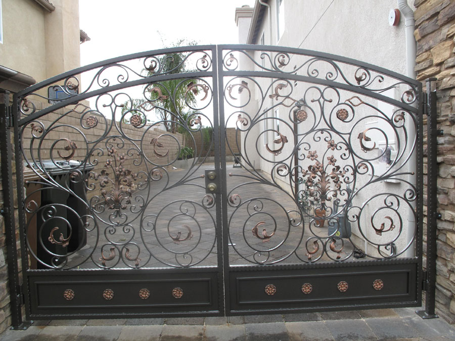 Wrought Iron Gates Fences In Orange County